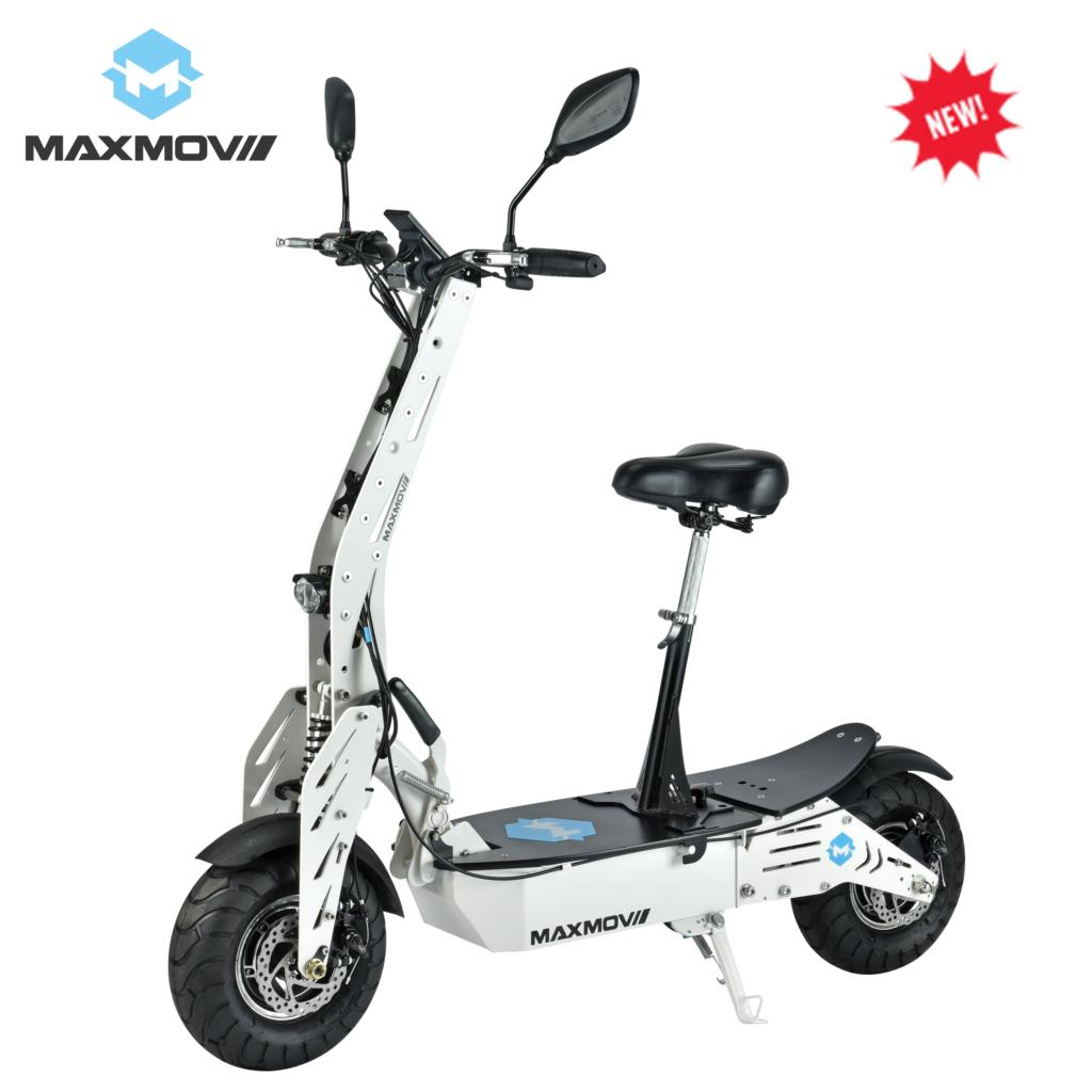 E-mark <font><b>1000w</b></font> Hub Motor Two Wheel Chopper Foldable Electric <font><b>Scooter</b></font> Germany with removeable seat image