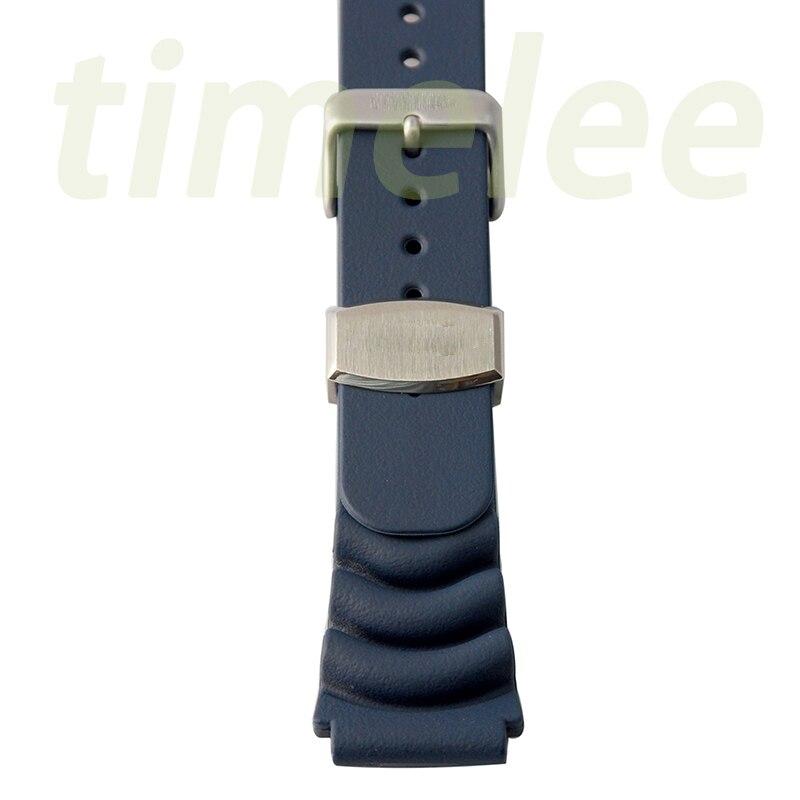 Для судового мастера 22 мм* 20 мм Резиновый вафельный ремешок для дайвинга ремешок металлический держатель