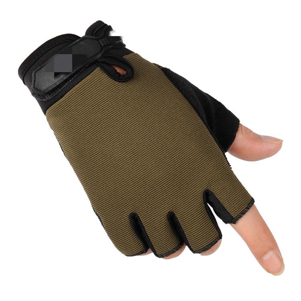 Перчатки на полпальца для езды на открытом воздухе, тактические Защитные велосипедные спортивные перчатки