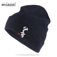 Bonnets en tricot pour femmes, chapeaux avec lettre chaude, chapeaux de marque offre spéciale pour adultes, chapeaux unisexe, hiver, décontracté