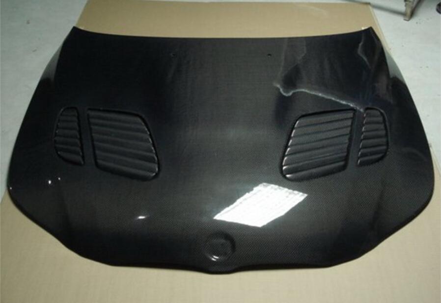 Couvercle de ventilation de capot de moteur de pare-chocs avant de Fiber de carbone convient pour BMW série 5 E60 modifié M5 2004-2010