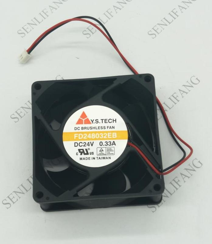 Free Shipping FD248032EB 8032 24V 0.33A 8CM Inverter Fan