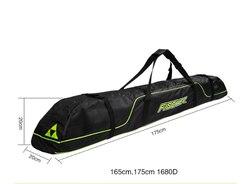 Paquete de palos de esquí botas de nieve casco portátil llevar hombro bolsa de mano para doble Snowboard impermeable Oxford funda cubierta 165cm 175cm