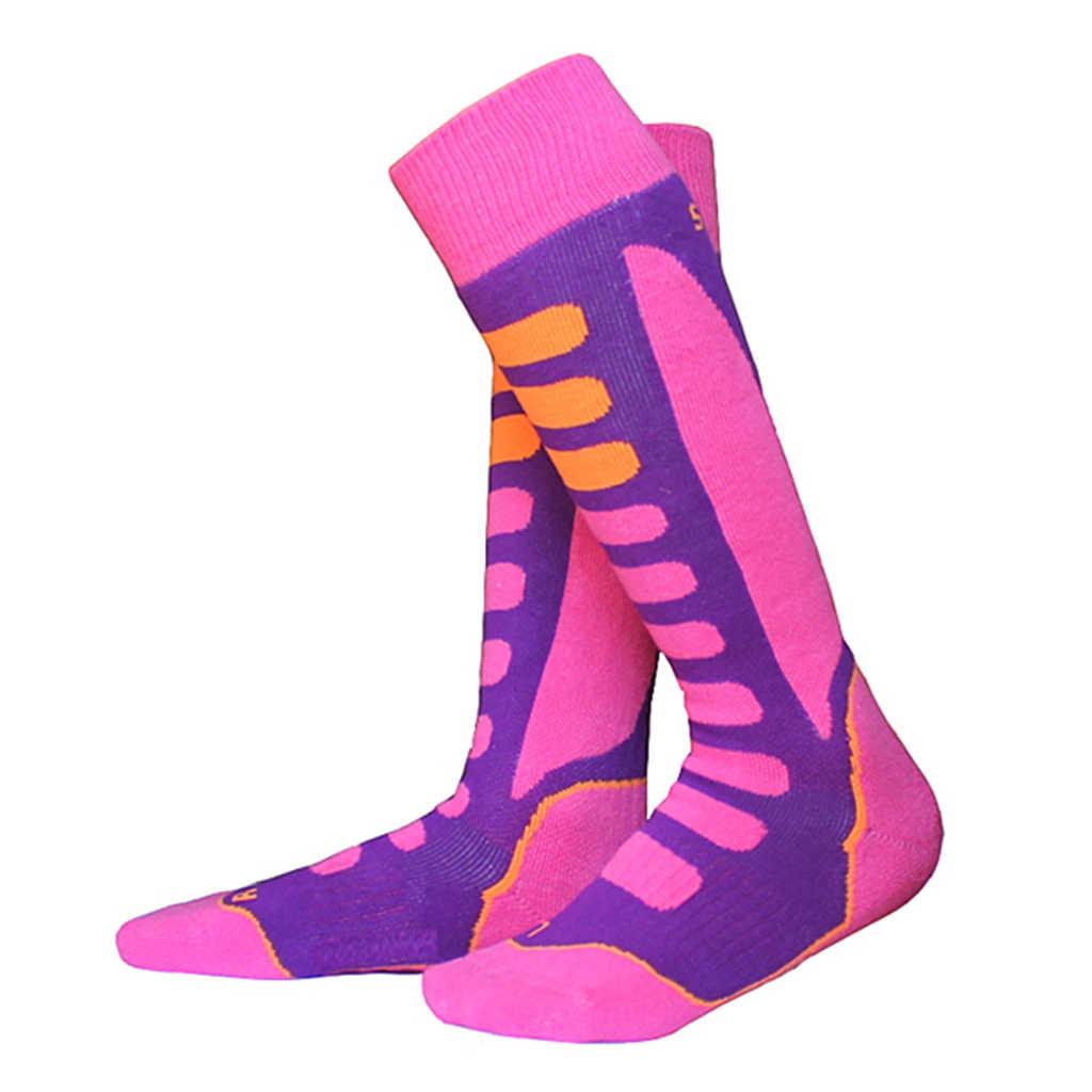 Ski Snowboard Sokken Wandelen Mannen Vrouwen Running Sport Sok Thermische Lange Ski Sokken EU 27-46 Winter Skiën sokken