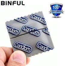 BiNFUL Usb-Stick Kondome Stift Stick 4GB 8G 16G-Speicher Karte Stick 32GB 64GB 128GB 256GB Memory Stick U Disk Cle Schlüssel