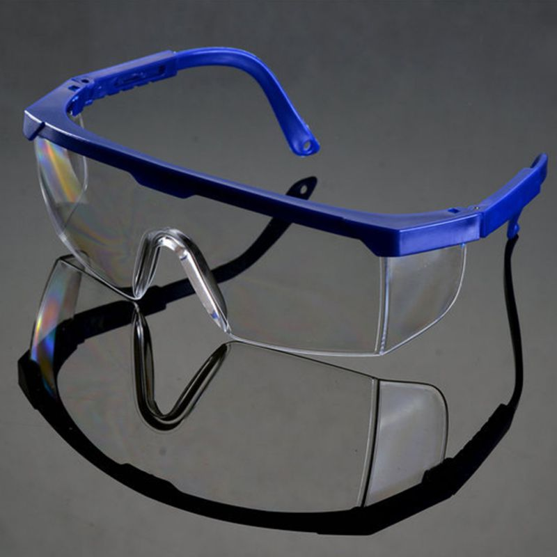 New Clear Black Safety Goggles Protective Windproof Eyewear Glasses New