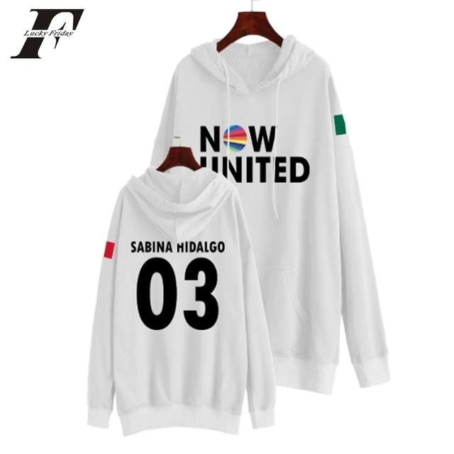 Now United Sabina Hidalgo 03 Hoodie Sweatshirts Trui Kpop Newtracksuit Streetwear Print Casual Mannen Vrouwen Printed Coat Tops 4