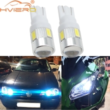 цена на 2X Xenon White blue red Green 6 SMD 5630 Turn Signal Bulb Auto Led Wedge Tail Bulbs Side Marker Parking Backup Light