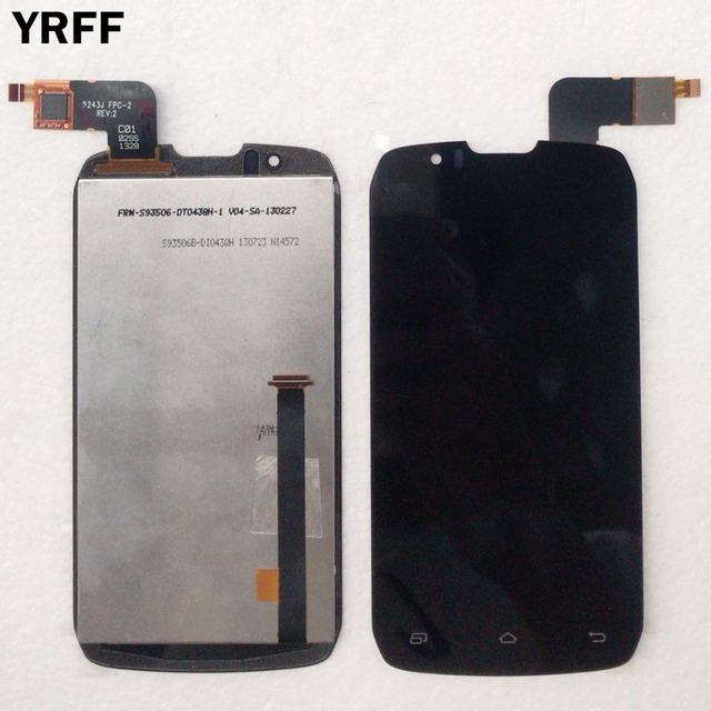 Tested LCD Display For DNS S4502 DNS S4502 S4502M Highscreen Boost Cloudfone Thrill430X Innos D9 D9C LCD Display Touch Screen