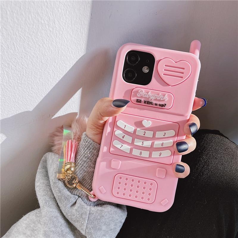Simple love heart phone case