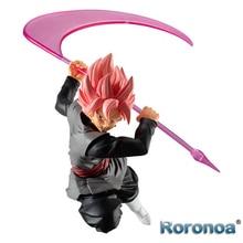 Roronoa BANDAI, Dragon Ball Original, style Super Saiyan Rose Goku, noir Zamasu, figurines, jouets, poupées