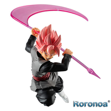 Roronoa Original BANDAI Anime Dragon Ball Styling Super Saiyan Rose Goku Black Zamasu Figure Brinquedos Model Toys Figurals Doll