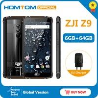 HOMTOM ZJI Z9 Helio P23 IP68 Waterproof 4G LTE Smartphone Octa Core 5.7 inch 6GB RAM 64GB ROM 5500mAh Full Bands Mobile Phone