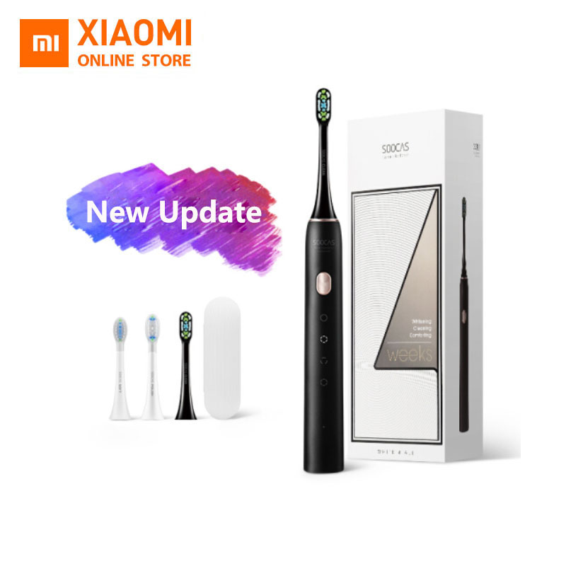 2020 BEST Xiaomi Mijia X3U X3 Sonic Electric Toothbrush Ultrasonic Powerful Waterproof Smart APP Control With Travel Case image
