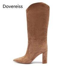 Dovereiss; Модная женская обувь; Зимняя обувь в сдержанном стиле