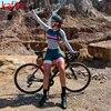 Kafitt ciclismo wear ciclismo wear terno de penetração de bicicleta de montanha feminina camisa de manga comprida apertado ao ar livre roupas esportivas 1