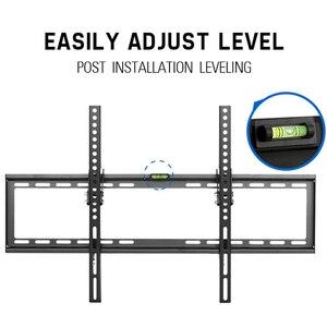 Image 2 - Soporte de montaje en pared para TV inclinable, para la mayoría de pantallas planas LED de 37 70 pulgadas, y LCD de Plasma, perfil bajo de hasta VESA 600x400, incluye Cable HDMI