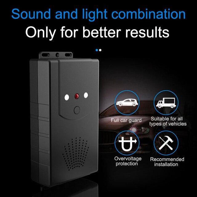 Car Under Hood Animal Pest Repeller Vehicle Rodent Repellent Ultrasonic Rat Deterrent 12V Automobile With LED Flashlight Hot