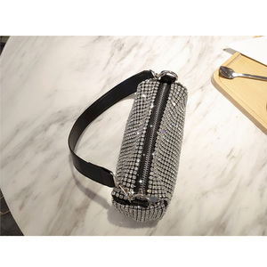 Image 4 - Women Bag 2019 Diamonds Designer Bag High Quality PU Crossbody Fashion mini shoulder Bags Ladies purses and handbags New Style