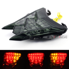 For BMW S1000R HP4 S1000RR 2010-2015 Motorcycle Integrated LED Tail Light Turn signal Blinker Lamp Smoke