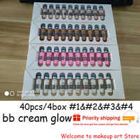 5ML 10pcs/box Mesowhite BB Cream stayve Starter Kit mixed color BB Booster Foundation Makeup Base Brightening Treatment