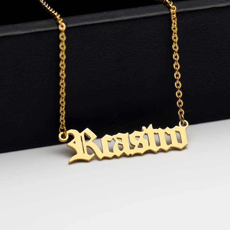 Old-English-Style-Name-Necklace-Personalized-Name-Necklace-Gothic-Jewelry-Silver-Rose-Gold-Custom-Nameplate-Choker