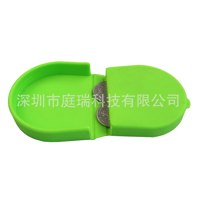 Creative Silica Gel Coin Purse Storage Coin Box Candy-Colored Hipster Horseshoe Purse Silica Gel Storgage Bag