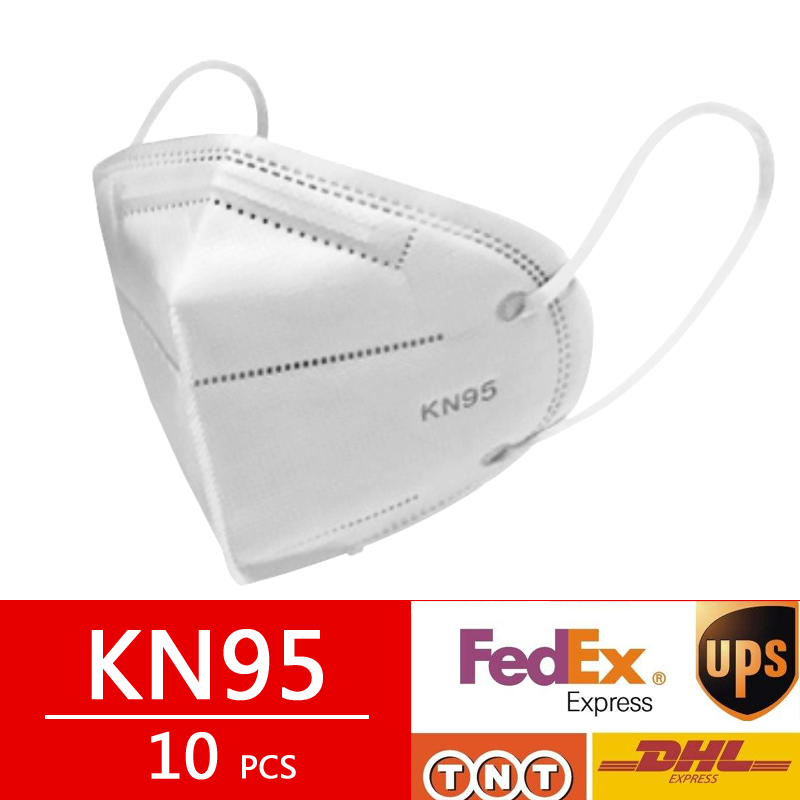 10 Pcs KN95 Dust Mask Maschere CE Certification Filter Respirator Face N95 Protective Mask Women Mask As FFP2 KF94 FFP1 Mascaras