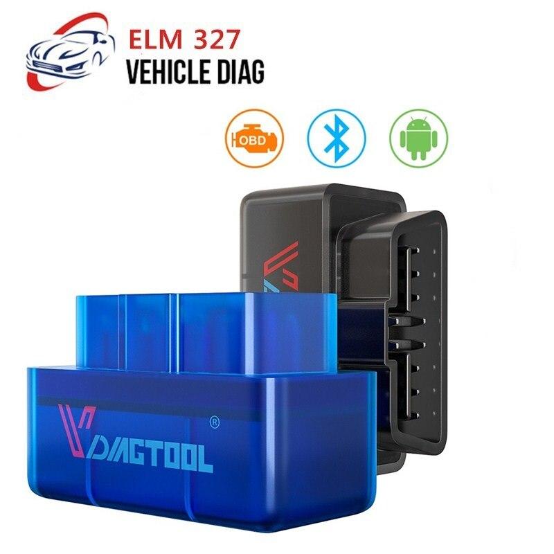 OBD2 ELM327 V1.5/2.1 Bluetooth Code Reader OBD Auto Diagnostic Scanner Multi-Language For Android/Symbian