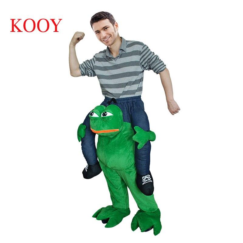 Nouveaux costumes de mascotte à vendre monter sur Costume Animal drôle déguisement pantalon