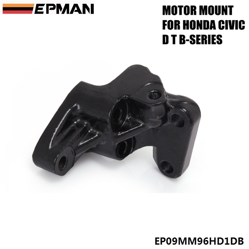 For 1996-2000 HONDA <font><b>CIVIC</b></font> B16 B17 B18 ENGINE SWAP POST MOUNT D TO B-SERIES MT ONLY EPMAN EP09MM96HD1DB image