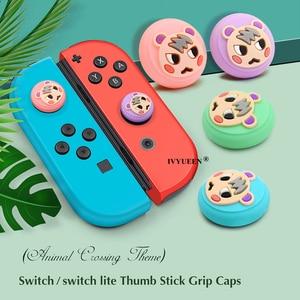 Image 4 - IVYUEEN Analog Thumb Grips for Nitendo Switch Lite NS JoyCon Controller Stick Cap for Nintend Switch Mini Joy Con Joystick Cover