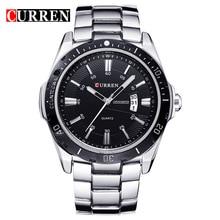 PopularNew fashion trend men's watches fashion calendar watches steel waterproof Shi Ying men's watches 55 watches fashion watches
