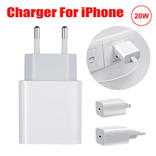 20W PD Fast Charger For iphone 12 Pro Max mini 11 X Xs XR phone Type USB C Adapter US EU Plug Original Wall Travel Charger