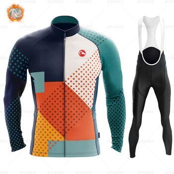 2020 velo de inverno pro conjunto camisa ciclismo mountian bicicleta roupas wear ropa ciclismo corrida roupas ciclismo conjunto 17