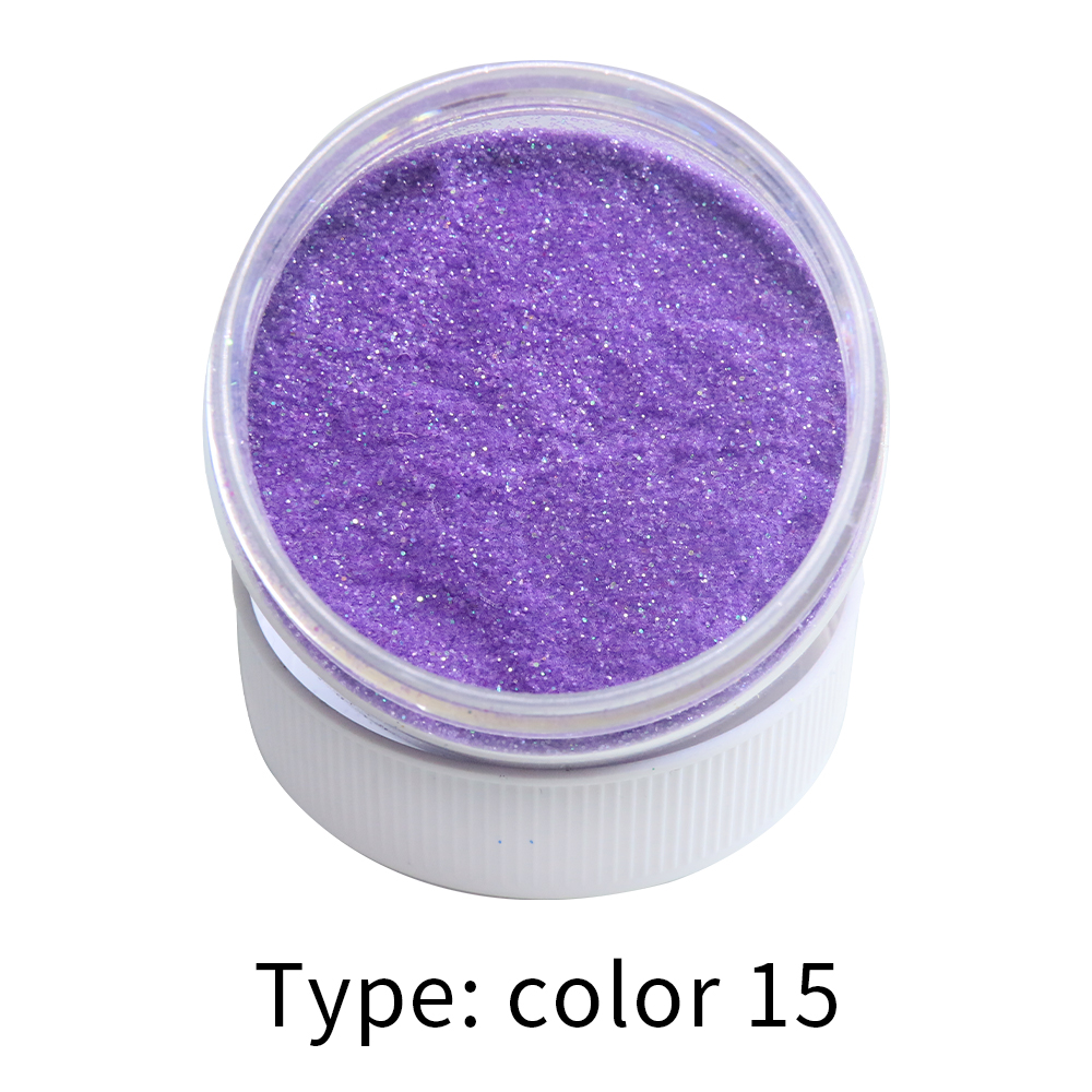 Pearl Powder Pigment Color 15 Glitter Powder Flash Powder, Shiny Metal Sheets,Nail Decoration, Paint Coating Automotive Coating