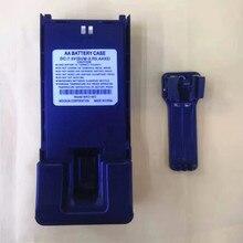 Lange Batterie fall shell box 5X AA für Wouxun KG 819, KG UV889, KG UV899, KG 829, KG 816 etc walkie talkie mit gürtel clip