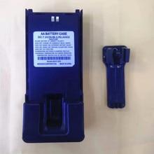 Long Battery case shell box 5X AA for Wouxun KG 819,KG UV889,KG UV899,KG 829,KG 816 etc walkie talkie with belt clip