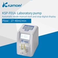 Kamoer KSP F01A 12V Intelligent Peristaltic Pump With Button Used For Liquid Dosing Transfer