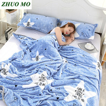 Soft Flannel blankets large Warm sheets for beds new Year's gift for home blanket Super Throw for Sofa Bed covers  blanket aibeile 2018 new high quality flannel baby blanket newborn super soft cartoon blankets 100 110 cm for beds thick warm kid