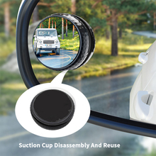 Mirrors Blind-Spot Rearview Wide-Angle Car for Car-Reverse Vehicle 360-Degree Adjustable