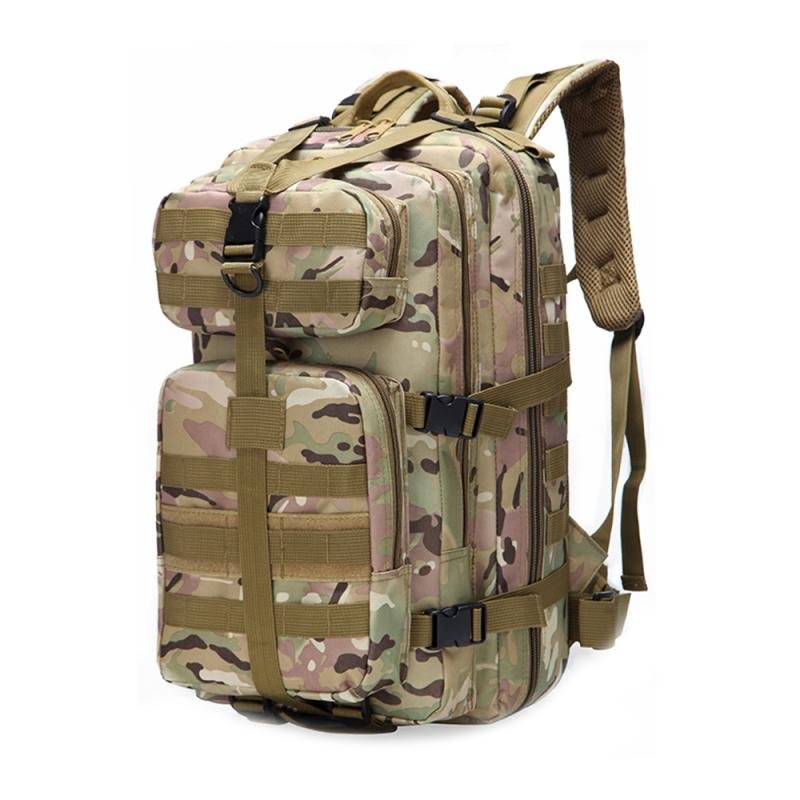 600D Waterproof Military Tactical Assault Molle Pack 35L Sling Backpack Army Rucksack Bag For Outdoor Hiking Camping Hunting 8