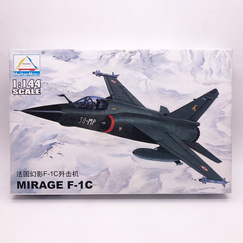 1: 144 France Mirage F-1C Fighter Modern Military Aircraft Assembled Model