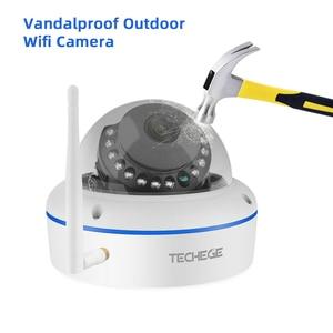 Image 5 - Techege 1080P Wireless CCTV Security Camera System 8CH WiFi NVR Kit Vandalproof Dome IP Camera Indoor P2P Video Surveillance Set