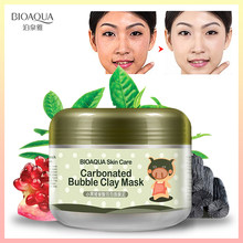 BIOAQUA Carbonated Bubble Clay Face Mask โภชนาการ Repair ครีม Hydrating และ Moisturizing Skin Care Whitening Facial หน้ากา(China)