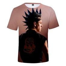 2021 TV Series Cobra Kai 3D Print T-Shirt Men/Women Style Fashion Popular Short Sleeve Streetwear Oversize Tops