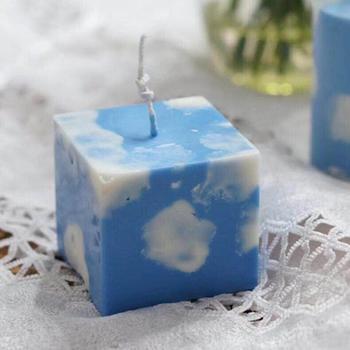 Molde de vela quadrado molde de sabão de silicone diy vela que faz gesso gesso resina artesanato moldes casa decoração sabão vela moldes de resina