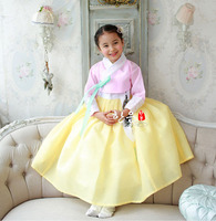 South Korea's Latest Imported Fabrics Girl's First Birthday/stage Performance Children's Korean Clothing Fashion Belt