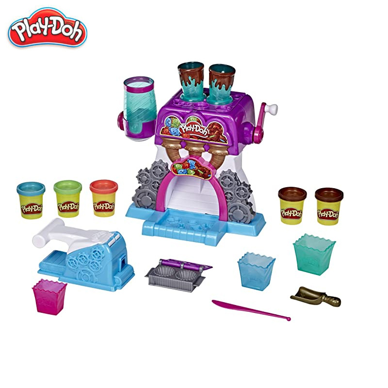 Hasbro PlayDoh Colorful Clay Colorful Candy Food Making Plasticine Clay Toy Set Children's Toy E9844
