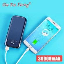 2019 20000 MAh Power Bank Pin Ngoài Poverbank LED Powerbank Di Động 2 Cổng USB Sạc Điện Thoại Di Động Cho Xiao Mi Mi iPhone X